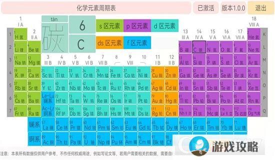 化学元素周期表软件手机版