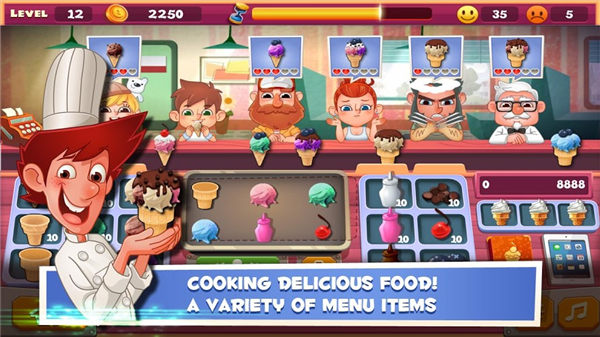 老爹冰淇淋店破解版下载安装:很好玩的买卖经营类游戏